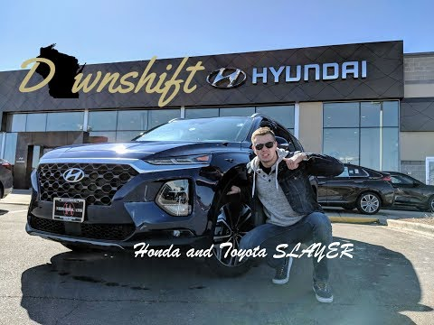 FAST 5 | 2019 Hyundai Santa Fe - Honda and Toyota Slayer