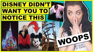 Disney World DOES NOT Want You To Notice THIS