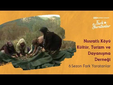 Nusratlı Köyü Kültür Turizm ve Dayanışma Derneği - Fark Yaratanlar