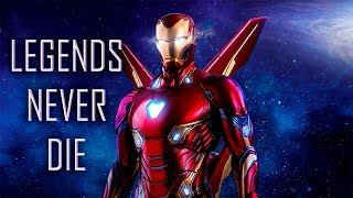 Iron Man Tribute   Legends Never Die   2008 2018