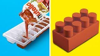 25 TRUCCHI FANTASTICI PER CUCINARE || Trucchi in cucina, idee per decorare il cibo e tante facili ri