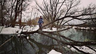 За неделю до запрета! Мартовский спиннинг 2019. Два дня со спиннингом Crazy Fish - Aspen Stake.