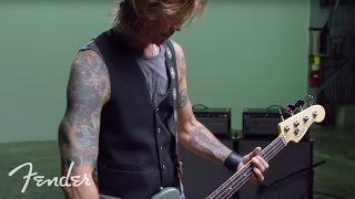 Duff McKagan & The American Professional Precision Bass | Fender