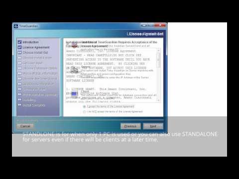 Time Guardian FPT-80 Installation (USB), Setup, & Demo - start to finish