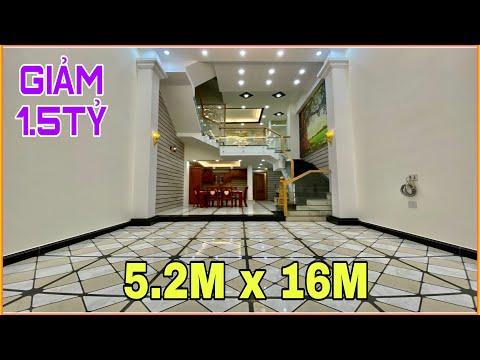 BÁN NHÀ 5.2M X 16M TRỆT LỮNG 3 LẦU 5PN, HƯỚNG BẮC. HẺM 8M, PHAN HUY ÍCH, PHƯỜNG 12, GÒ VẤP