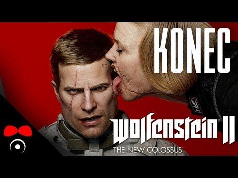 KONEC! | Wolfenstein 2: The New Colossus #13