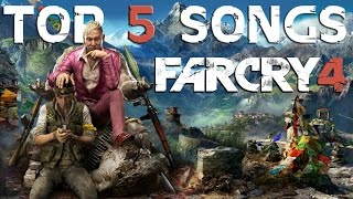 FAR CRY 4 SOUNDTRACK - TOP 5 SONGS