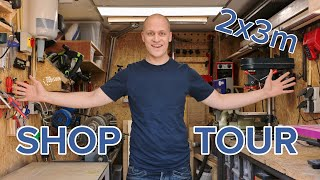 My Small And Efficient Workshop (2 X 3 Meter) - 2019 Shop Tour