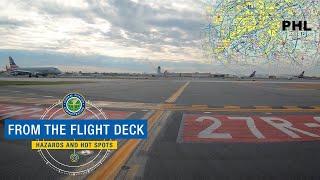 From The Flight Deck - Philadelphia, PA (PHL)