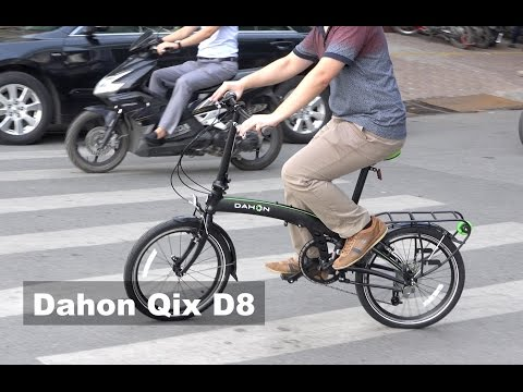 Dahon Qix D8 Folding Bike Review – The Best Commuter Bicycle