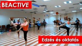 Fitnesz és Oktatás, BEACTIVE - Edzés Cseresnyés Beáta Master Trainerrel