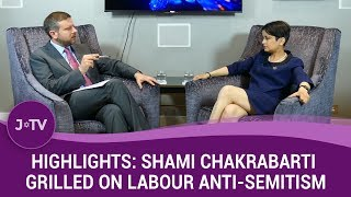 WATCH - The awkward moment Shami Chakrabarti refuses to deny being offered a peerage for her whitewa