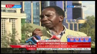 Mbiu ya KTN: Tangazo la Raila Odinga 4/5/2017