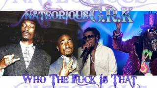 Who The Fuck Is That - 2Pac, Snoop Dogg, Lil Wayne, T-Pain [Nateorious Remix]