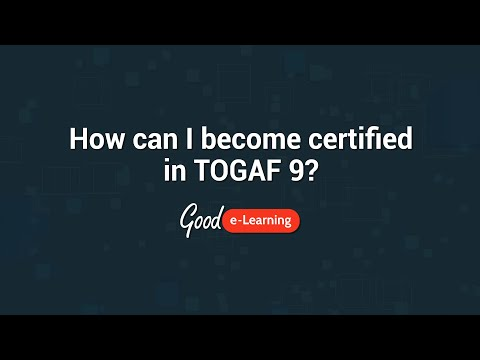 How can I become certified in TOGAF 9 Foundation? - Good e ...