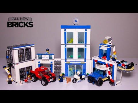 Vidéo LEGO City 60246 : Le commissariat de police