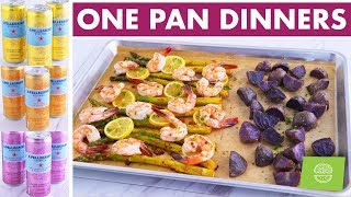 One Pot & One Pan Dinner Ideas - 3 Easy Healthy Dinner Recipes!