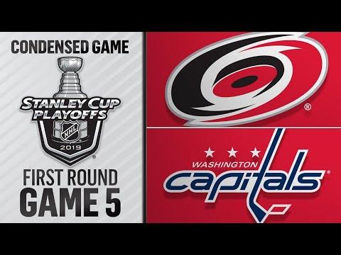 04/20/19 Round 1, Gm5: Hurricanes @ Capitals