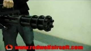 Страйкбол, Vulcan M134 Minigun - RedWolf Airsoft - RWTV