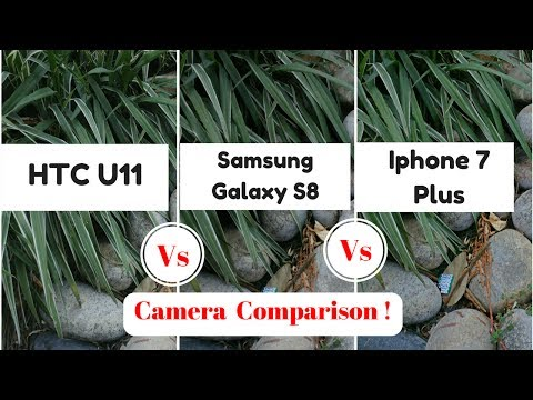 HTC U11 Vs Samsung Galaxy S8 Vs iPhone 7 Plus: comparazione fotografica