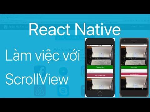 14-Làm việc với Vertical ScrollView chứa nhiều Component