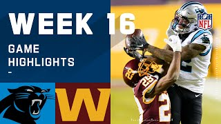 Panthers vs. Washington Football Team Week 16 Highlights | NFL 2020