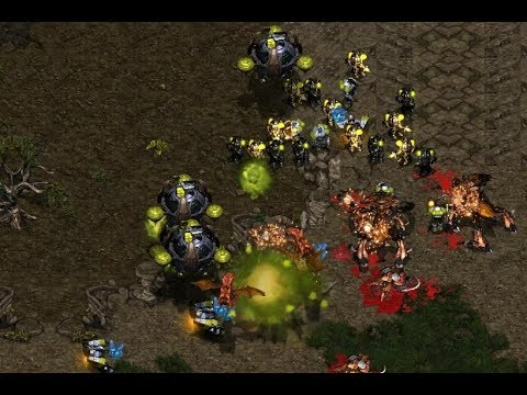 P - CloseR (Z) v Strelok (T) on Heartbreak Ridge - StarCraft - Brood War REMASTERED