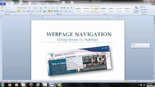 VIDEO 1: Using Section Breaks to Change Page Numbering Types in Word