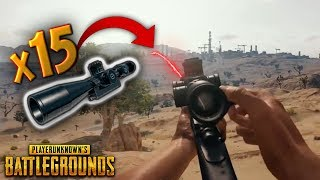 LONGEST x15 Scope Shot..!!   Best PUBG Moments and Funny Highlights - Ep.112
