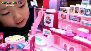 ngôi nhà đồ chơi mini | công chúa búp bê thay đồ