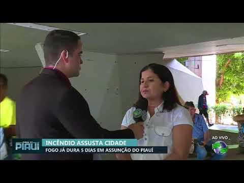 Incêndio assusta comunidade em Assunção do Piauí