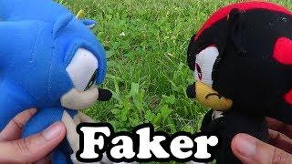 Sonic Plush   SA2 Scene Recreation: Faker! [Sonic Vs Shadow]