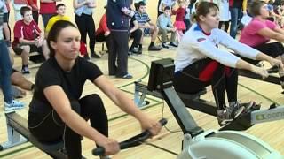 В комплексной детско-юношеской спортивной школе олимпийского резерва «Олимп» состоялись соревнования среди воспитанников отделения гребли на тренажёрах концепт