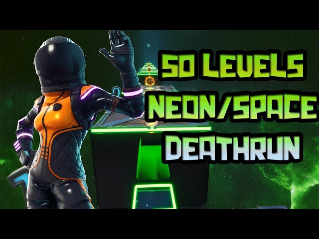50 LEVEL NEON/SPACE DEATHRUN