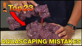 Aquascaping regret is real! Don't do what we did...avoid these Top Aquascaping Mistakes.