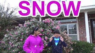 Early Snow Fall in Texas   October 2020