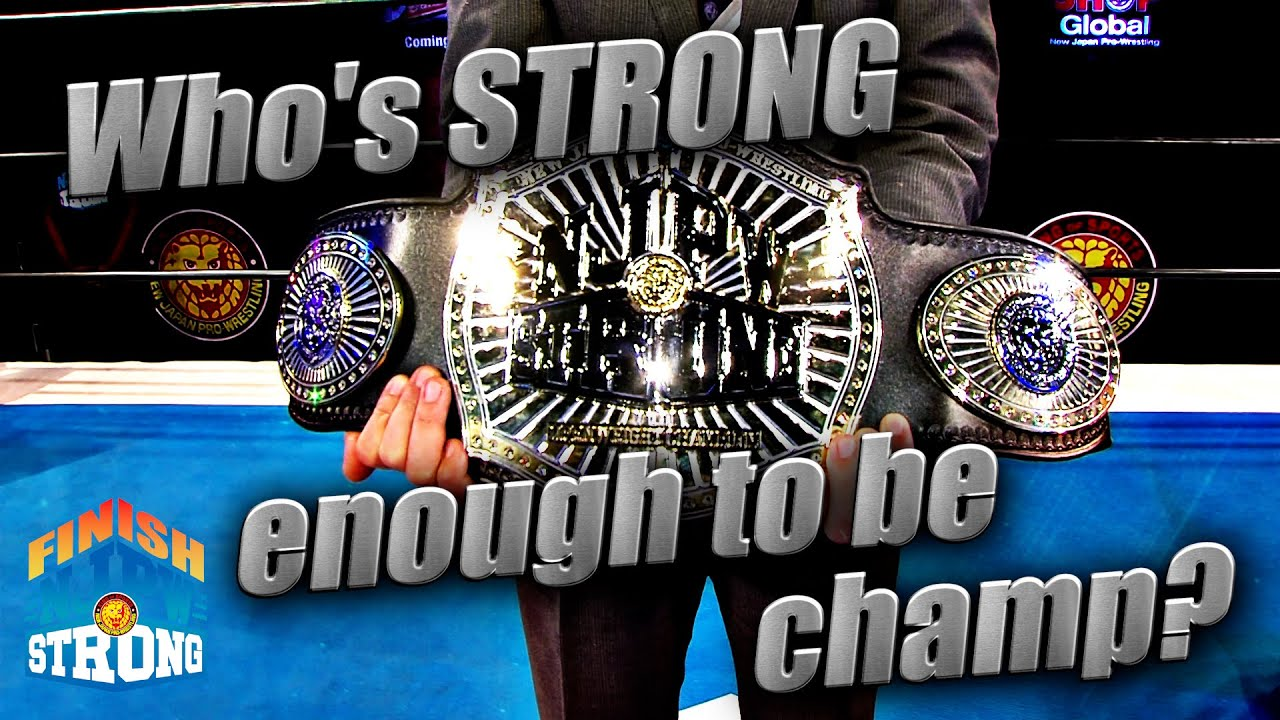 NJPW President On The Decision To Create The Strong Openweight Championship