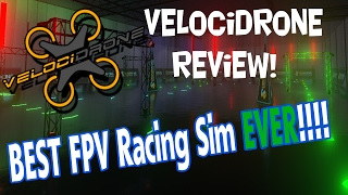 VelociDrone Review - BEST FPV Racing SIM EVER!
