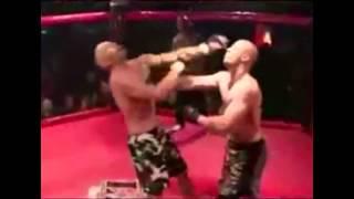 Смешное видео. Сцены из бокса от поцелуя до нокдауна