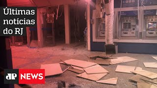 Bandidos explodem banco ao lado de cabine da PM no Rio de Janeiro