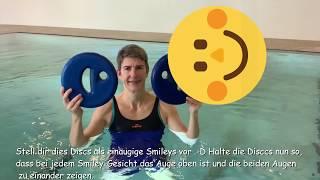 Aqua Fitness Übungen mit Aqua Discs