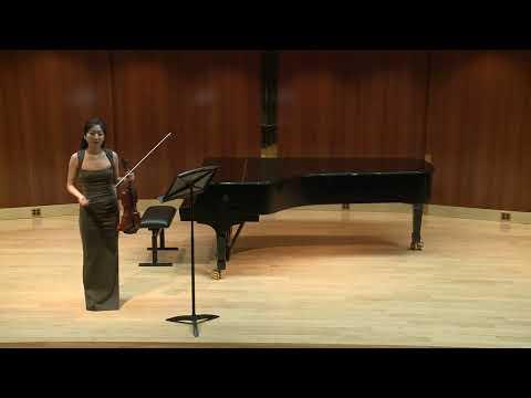2018 Juilliard Graduation Recital