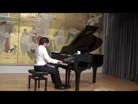 Franz Schubert, sonate D958 1er mvt. Allegro<br /> Xavier Aymonod, piano <br />Maison du Japon de la Cité Universitaire de Paris