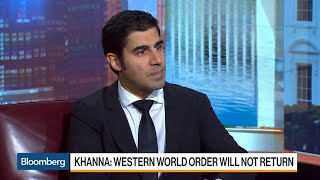 U.S. Is Waking Up To Fact That Asia Is Future Of Commerce, Author Khanna Says