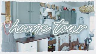Cozy Home Tour 🏠antique Thrifted Home Decor
