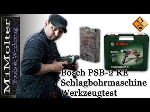 Bosch PSB 850 2 RE Test von M1Molter