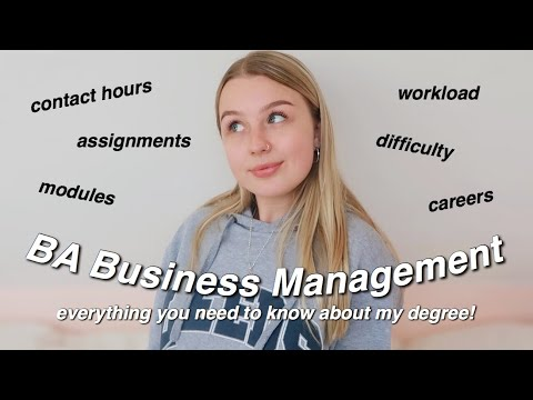 BUSINESS MANAGEMENT Q&A   all about my degree! AD
