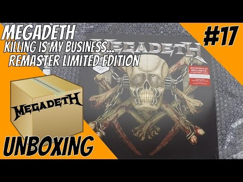 Unboxing #17: Megadeth 'Killing Is My Business' Remastered Limited Edition Vinyl Mp3