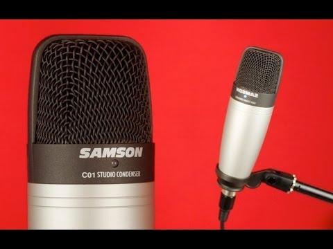 Samson C01 Large Diaphragm Vocal Condenser Microphone