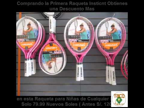 Raquetas de Tenis para Niños Head, Funda Gratis, envio nacional